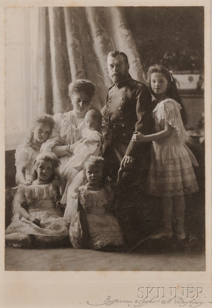 The Boisson and Eggler Workshop (St. Petersburg, Early 20th Century)       The Russian Imperial Family