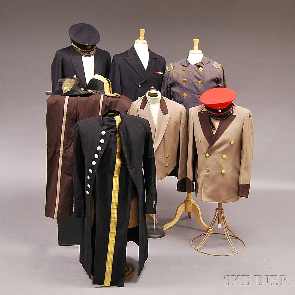 Collection of Assorted ROTC and Usher's Uniforms