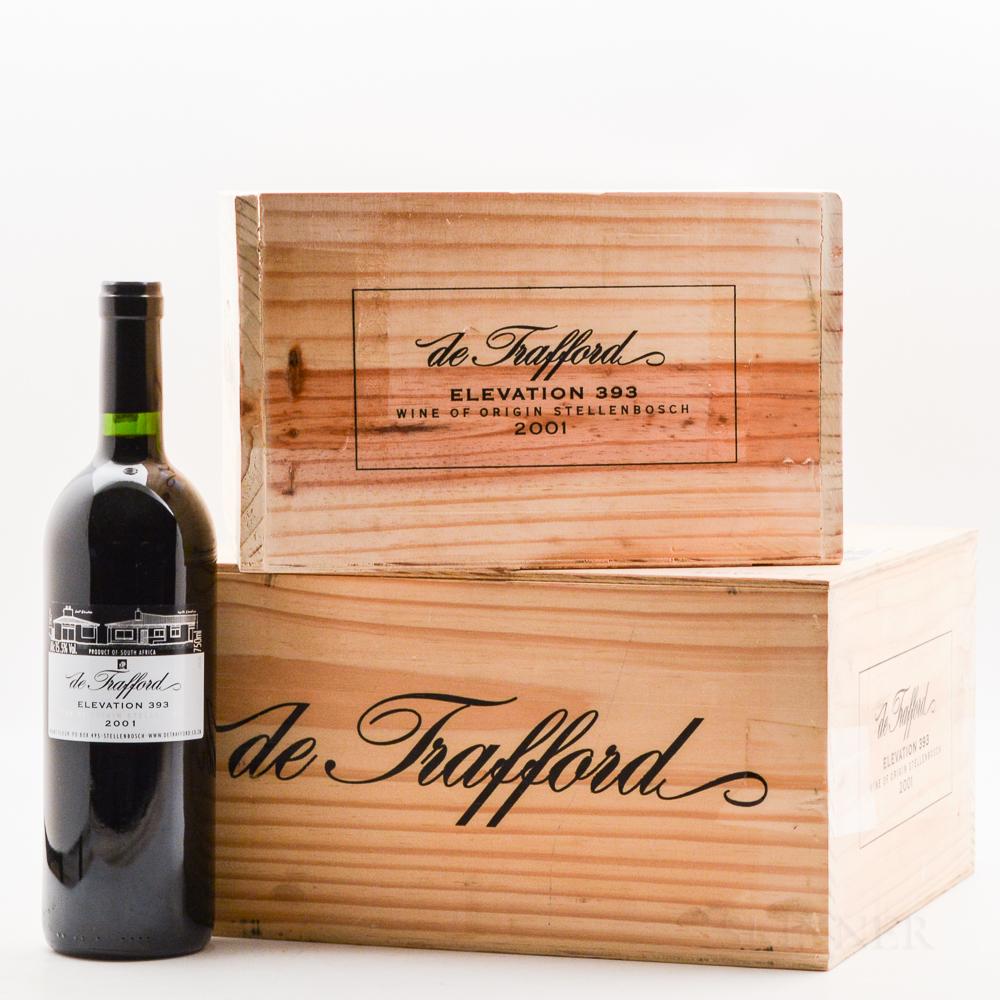 de Trafford Elevation 393 2001, 12 bottles (2 x owc)