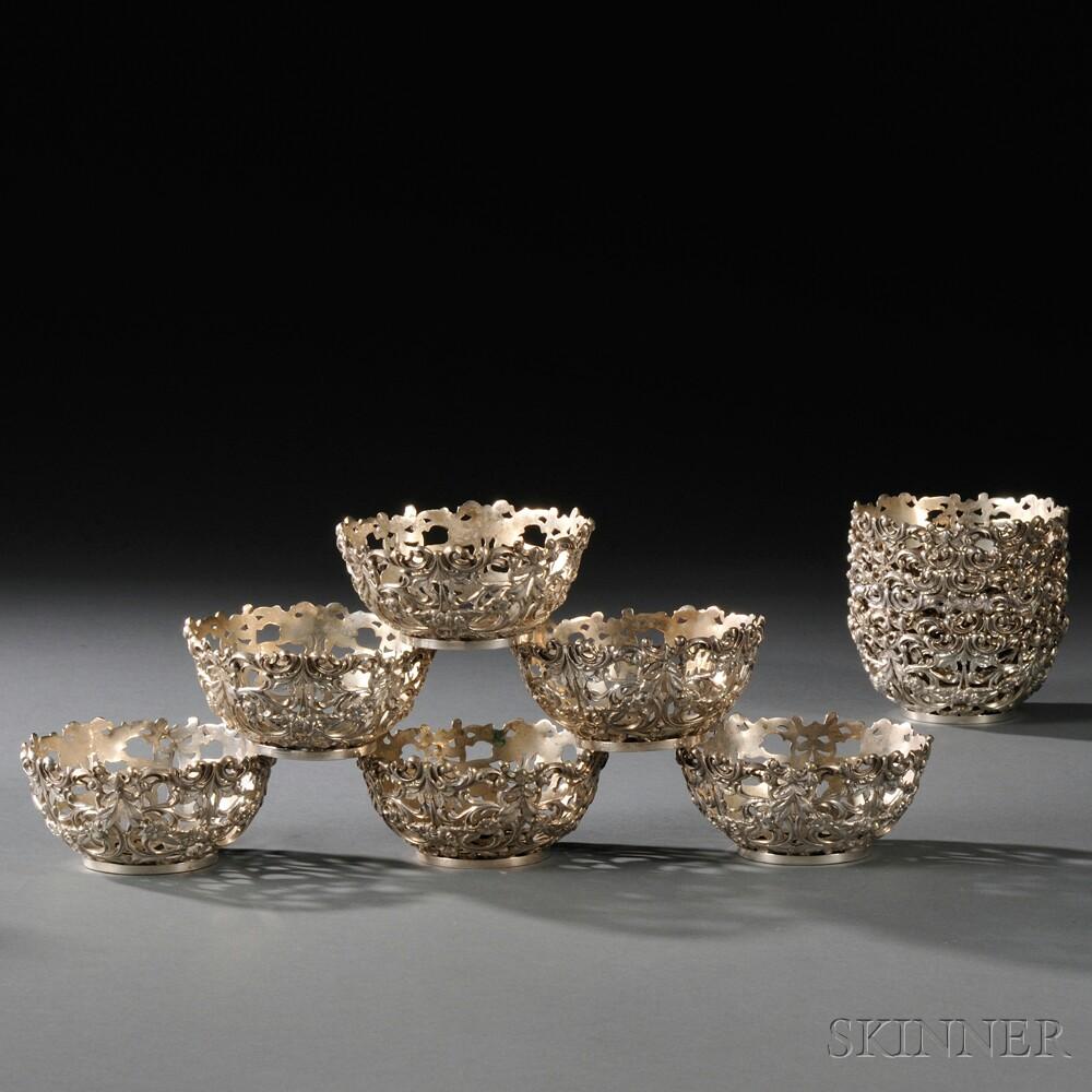 Twelve Sterling Silver Bowls