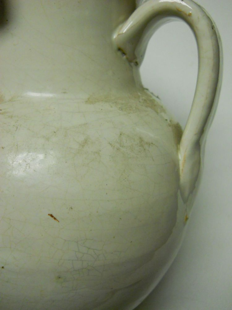 White-glazed Pottery Jug