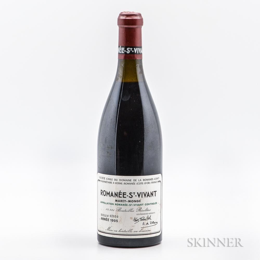 Domaine de la Romanee Conti Romanee St. Vivant (Marey Monge) 1995, 1 bottle