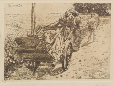Franz Gehri (Swiss, 1882-1960)    Peasant Family.