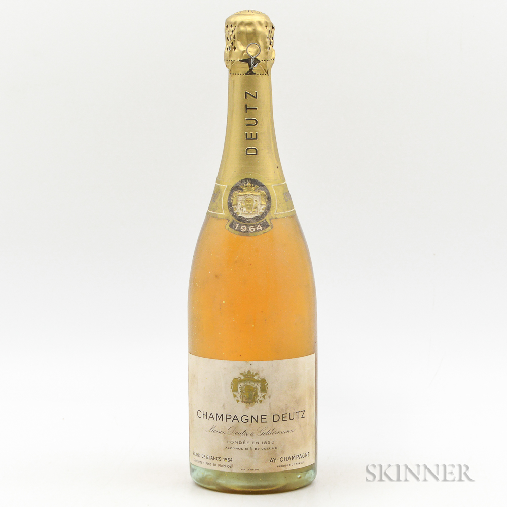Deutz Blanc de Blancs 1964, 1 bottle