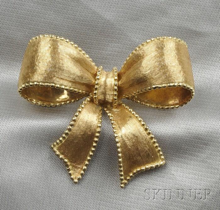 18kt Gold Brooch, Tiffany & Co.