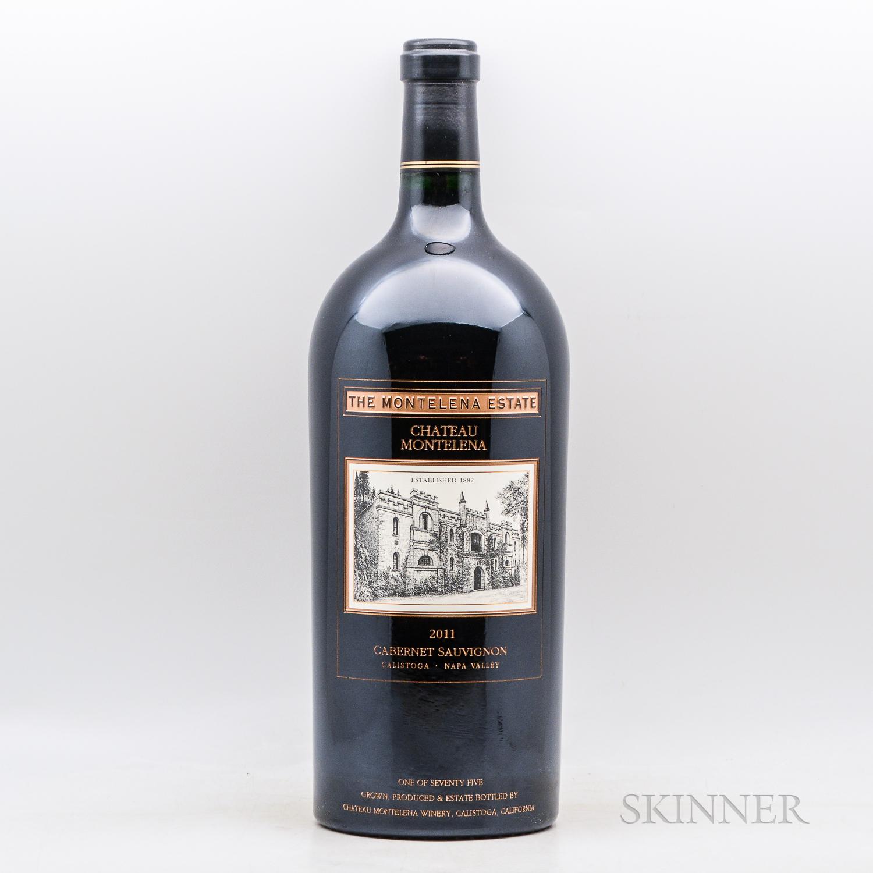 Chateau Montelena Cabernet Sauvignon Estate 2011, 1 5 liter bottle (owc)