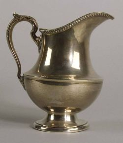 Poole Sterling Water Pitcher