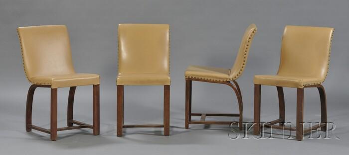 Four Gilbert Rhode Chairs