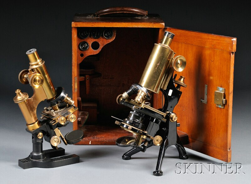 Two London Microscopes
