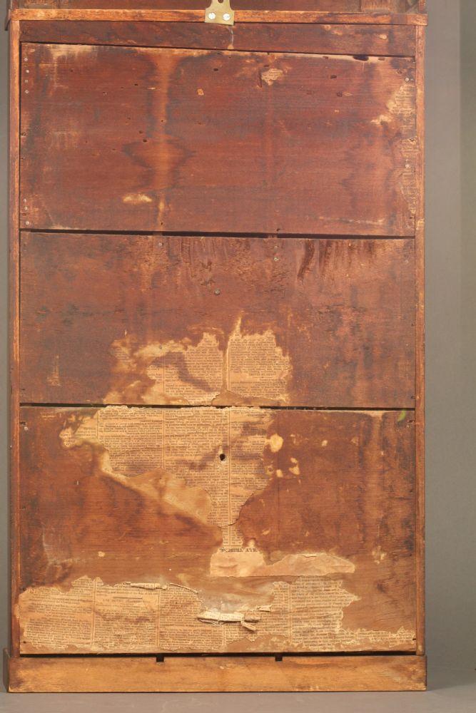Edmund Wooding Column and Splat Shelf Clock