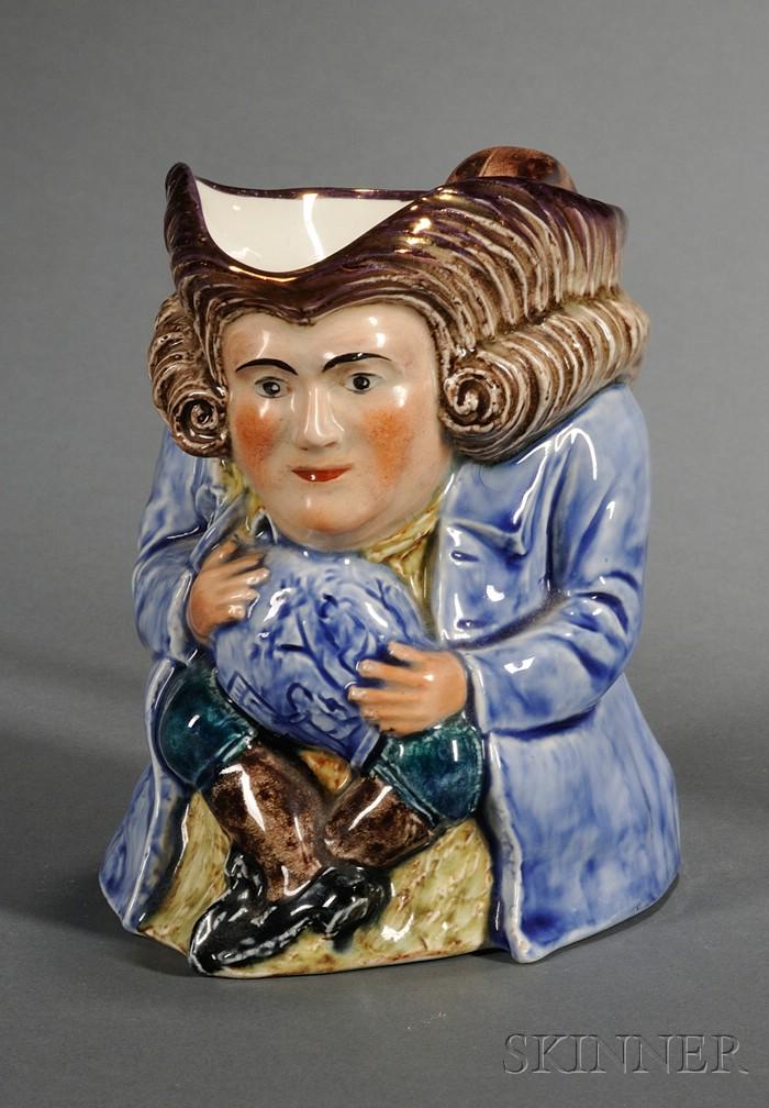 Wedgwood Queen's Ware Toby Jug