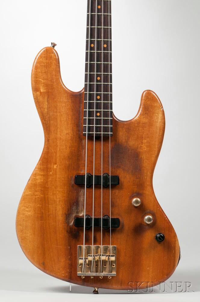 Pensa-Suhr J4 Electric Bass Guitar, 1986