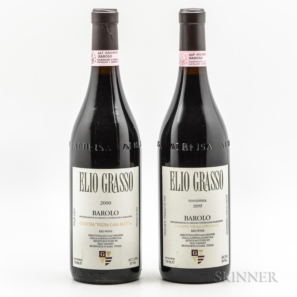 Elio Grasso, 2 bottles