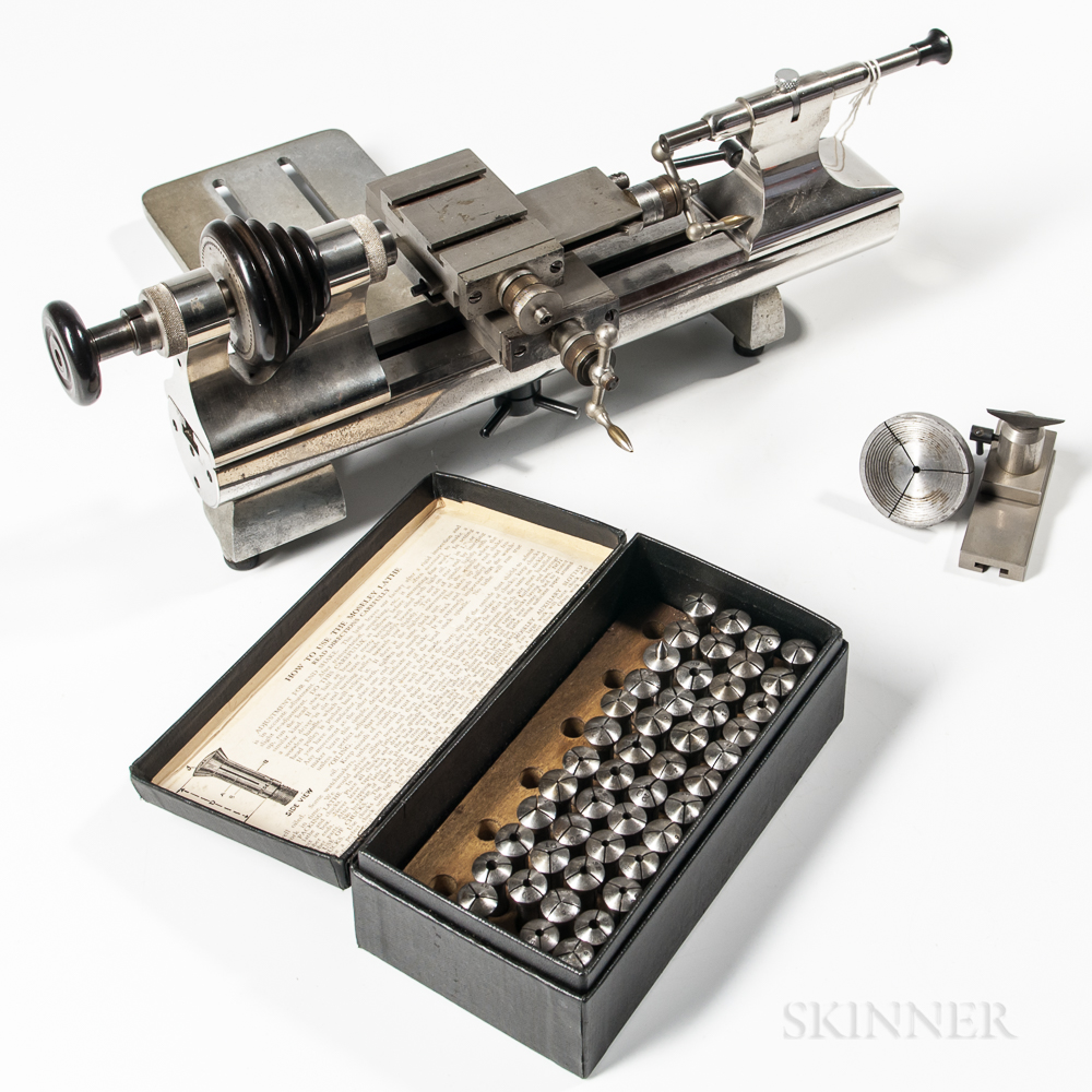 Watchmaker's Lathe and Collets