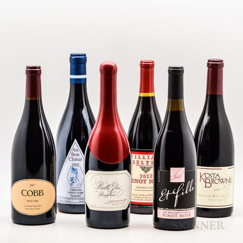 Mixed Pinot Noir, 6 bottles