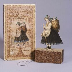 The Little Automaton Paper Toy in Original Box