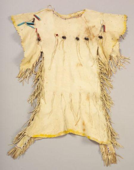 Southern Plains Beaded Hide Girl's Dress