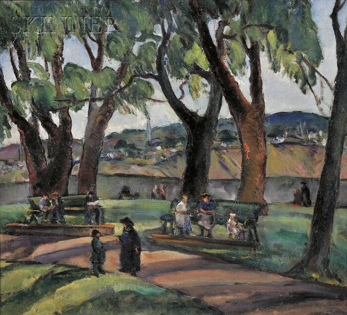 Marion Huse (American, 1896-1967)      Afternoon in the Park