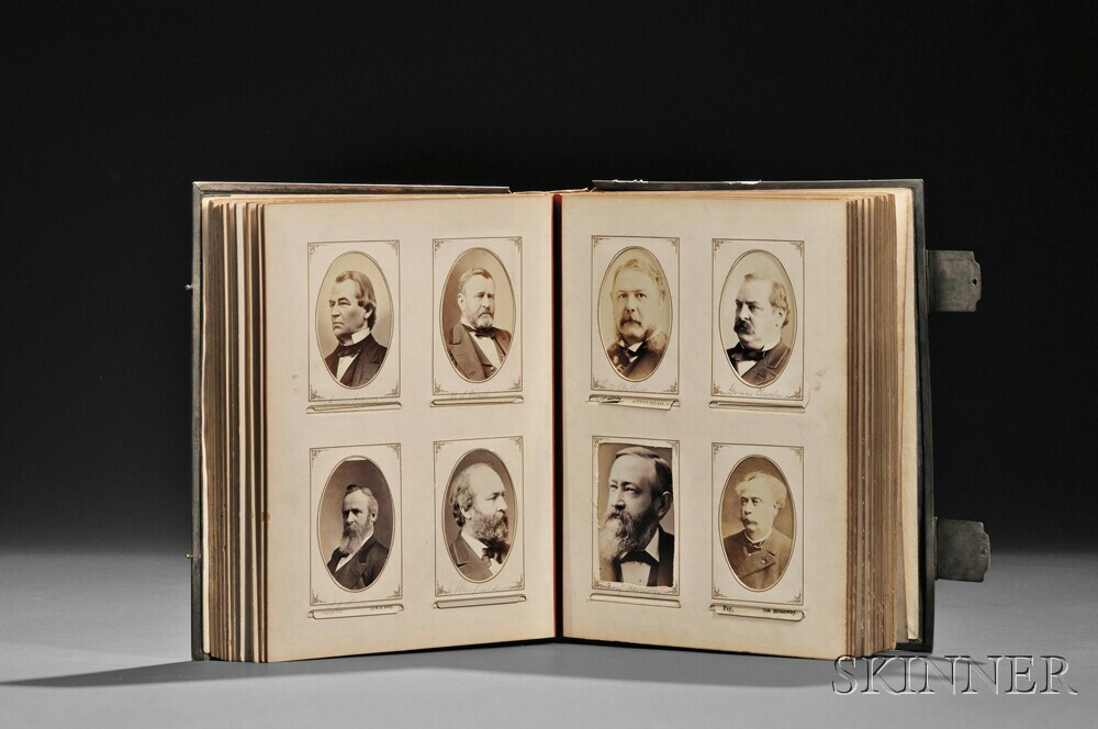 Carte-de-visite Album Compiled by John Badger Bachelder (1825-1894)
