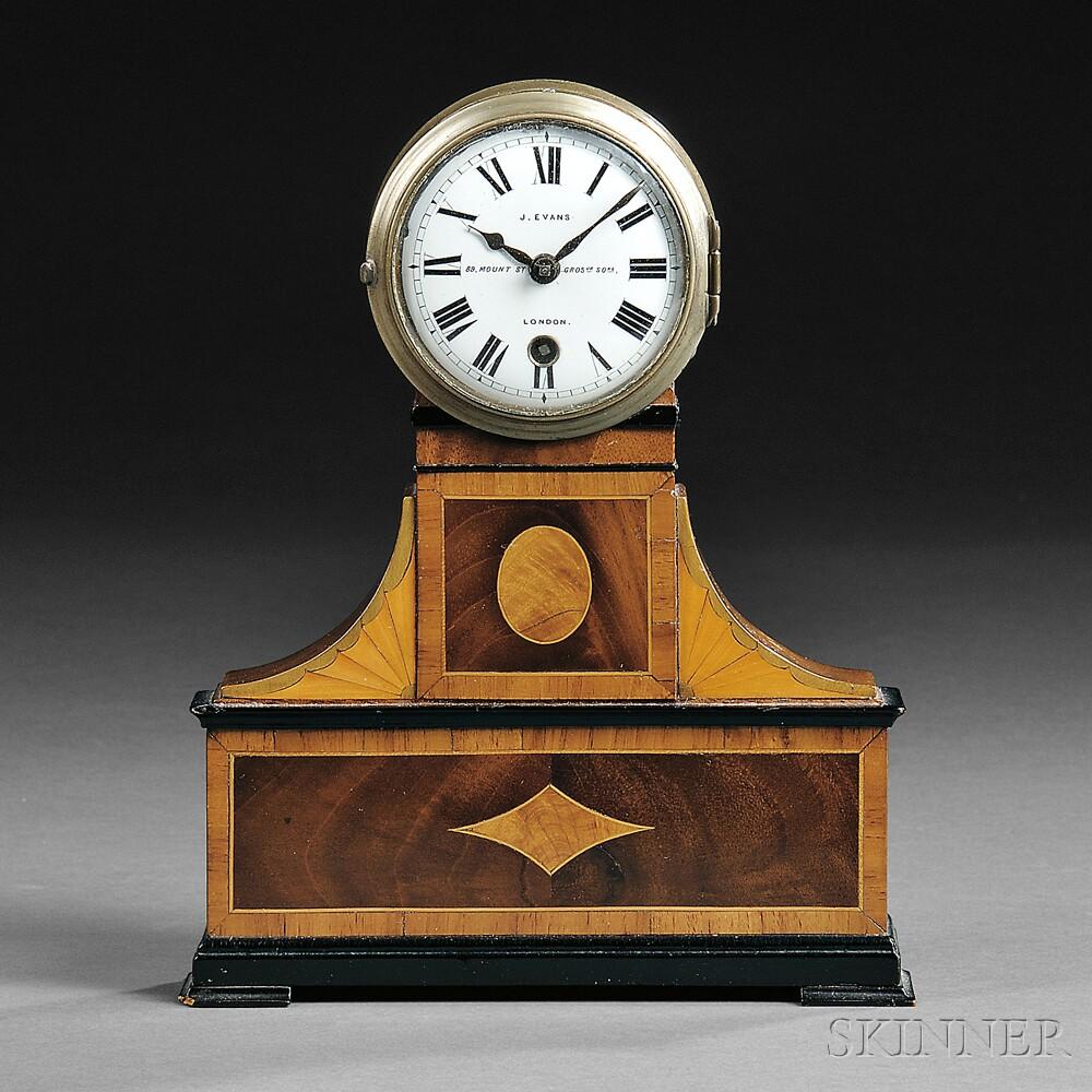 J. Evans Miniature Bedside Clock
