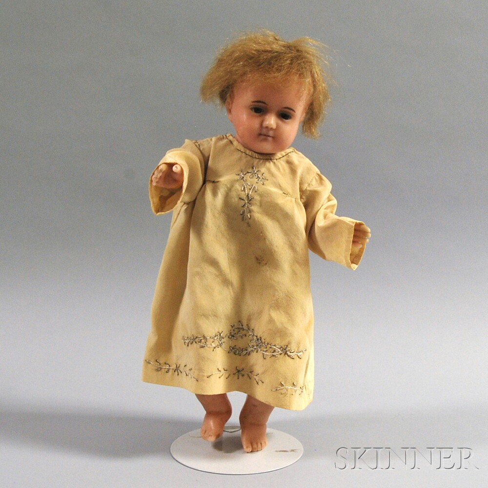 Poured Wax Christ Child Doll