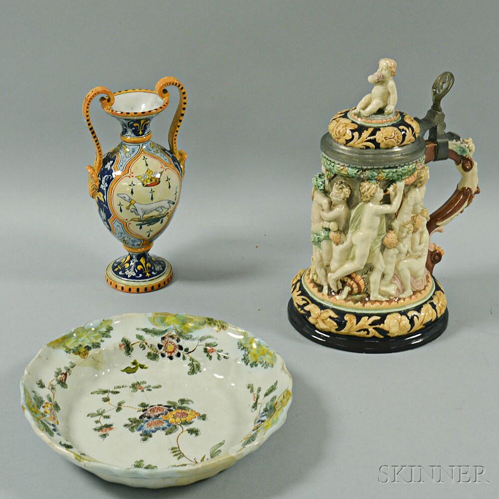 Three Italian Ceramic Items