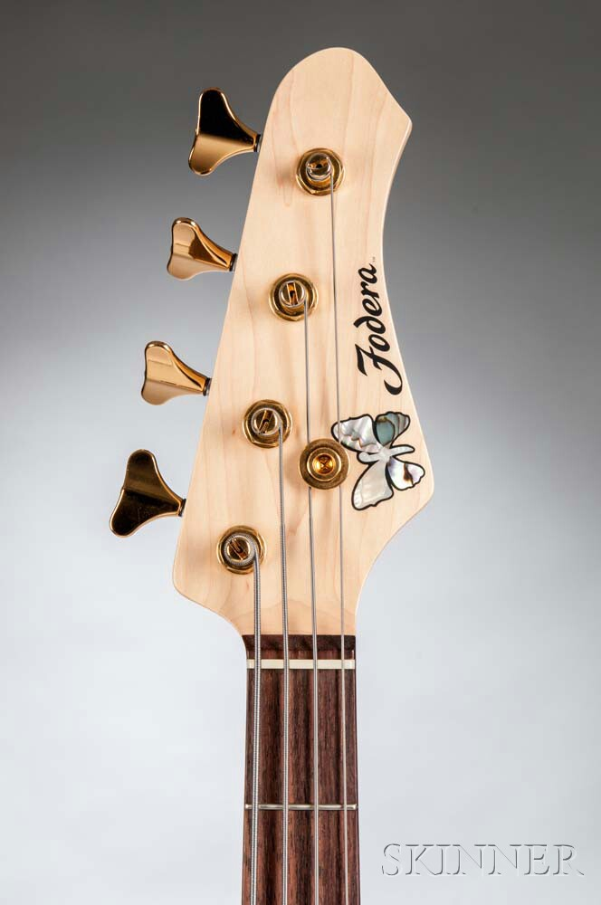 Fodera NYC Deluxe Electric Bass Guitar, 2011