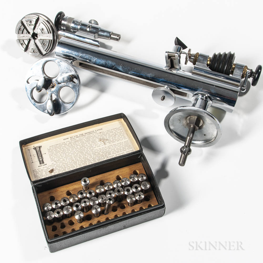 Peerless Watchmaker's Lathe and Collets