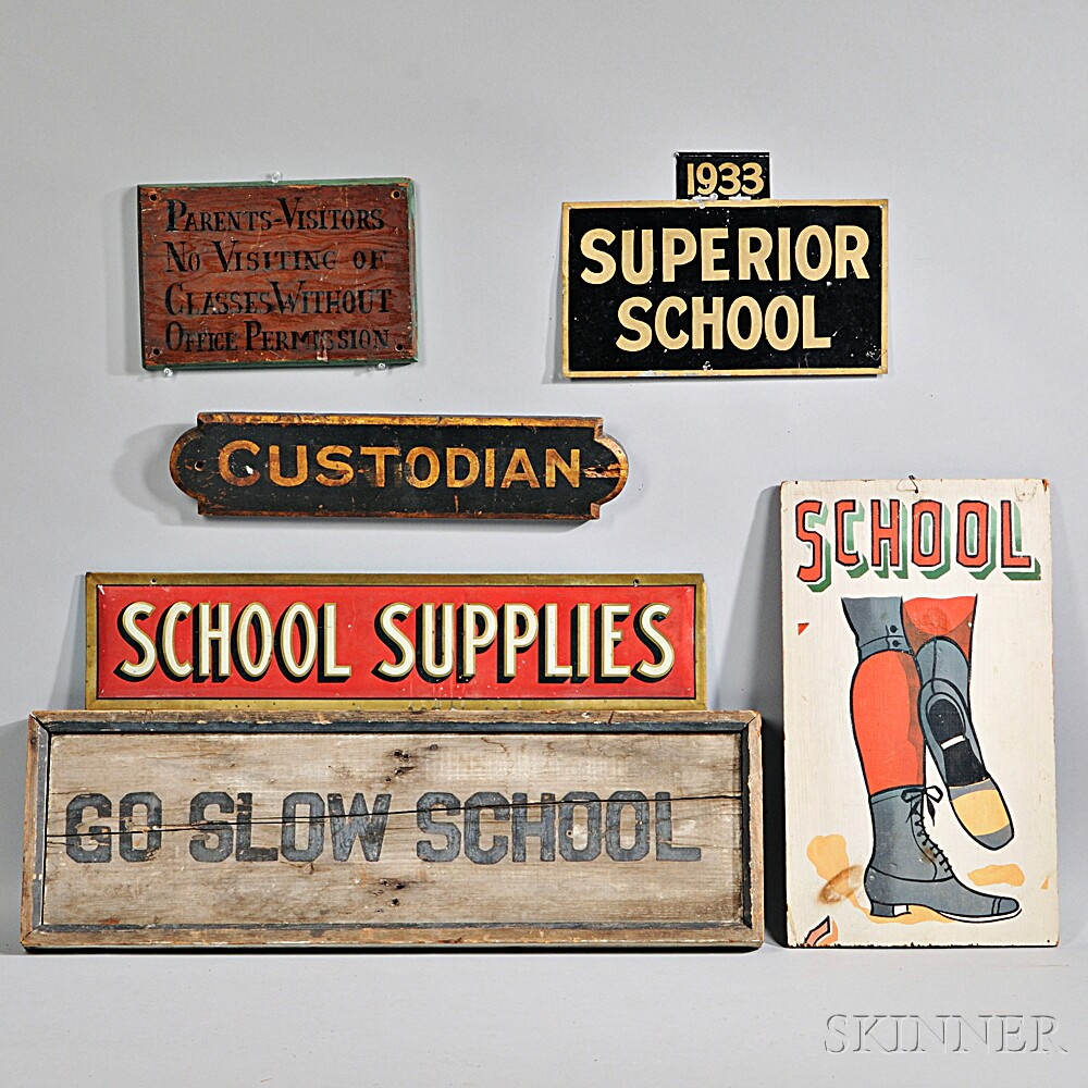Six School-related Signs