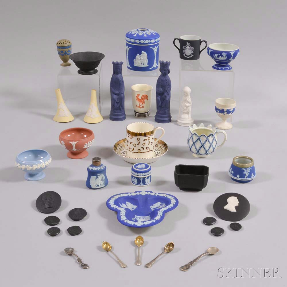 Thirty Small Wedgwood Items