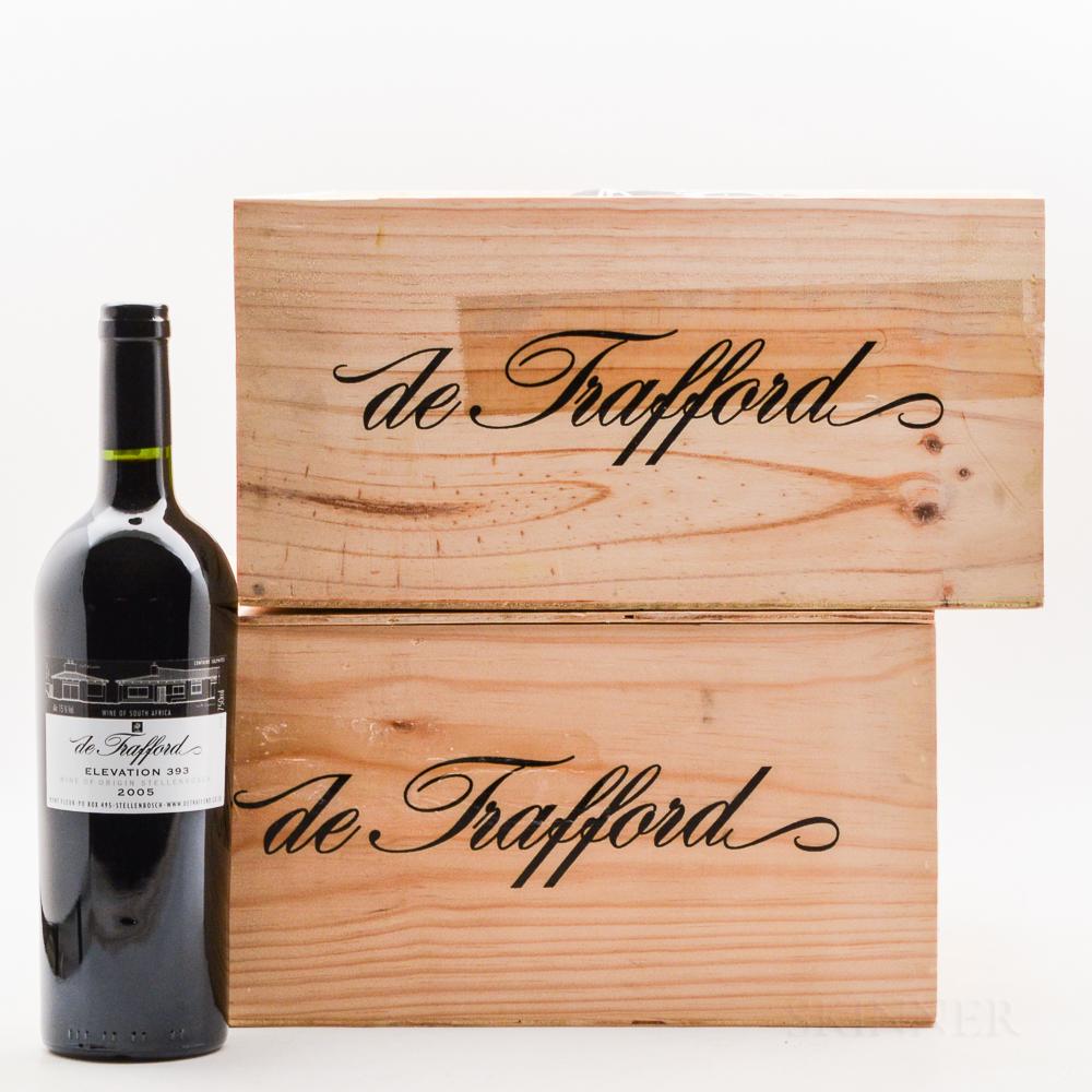 de Trafford Elevation 393 2005, 12 bottles (2 x owc)