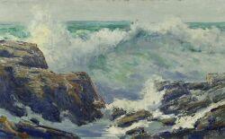 Jay Hall Connaway (American, 1893-1970)  Head Harbor Island, Maine