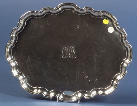 Tiffany & Co. Elizabeth II Sterling Salver