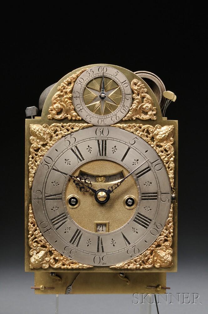 S. DeCharmes Quarter-repeating Table Clock
