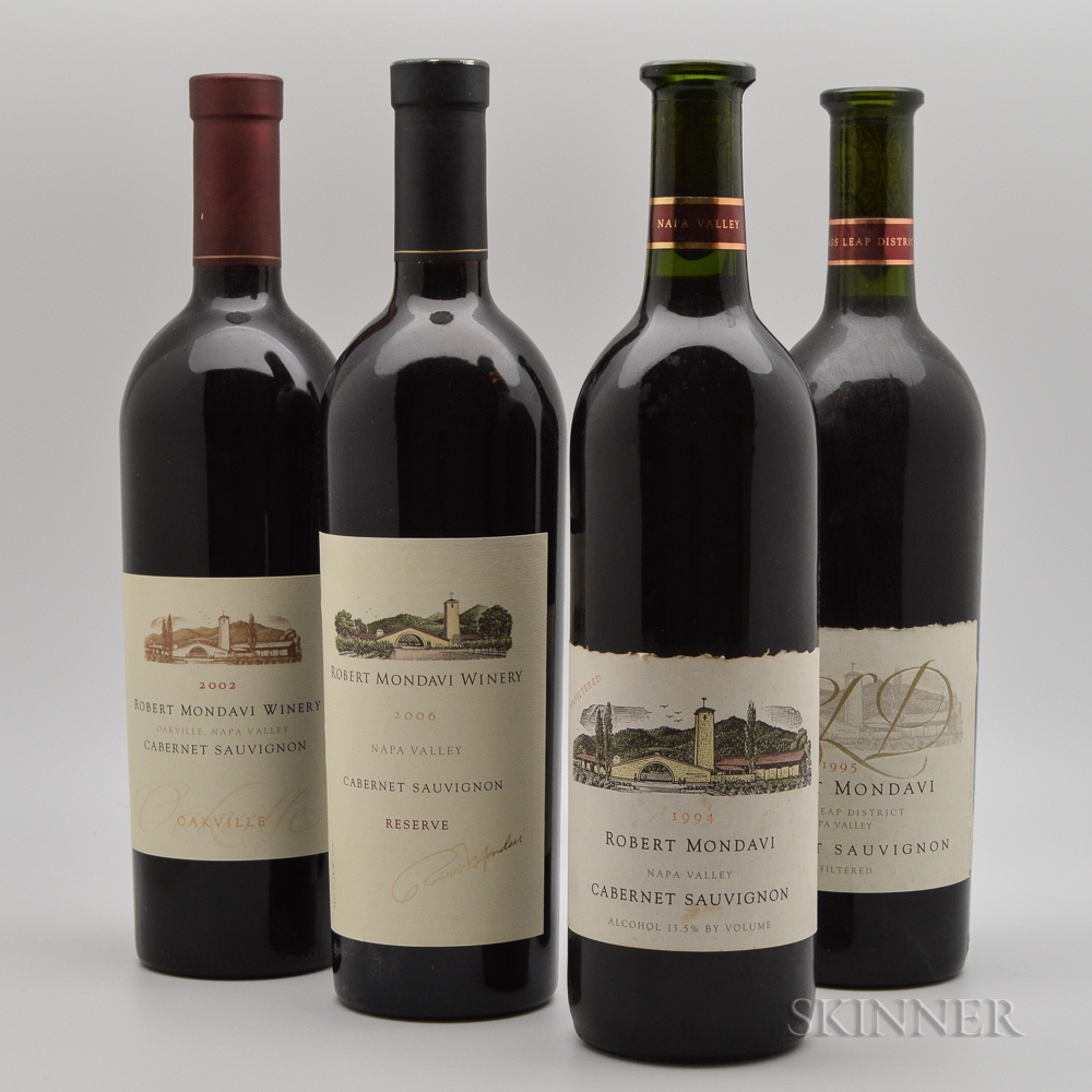 Robert Mondavi, 4 bottles
