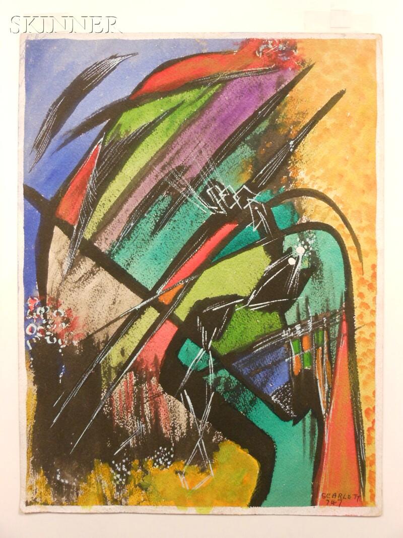 Rolph Scarlett (American, 1889-1984)      Untitled,