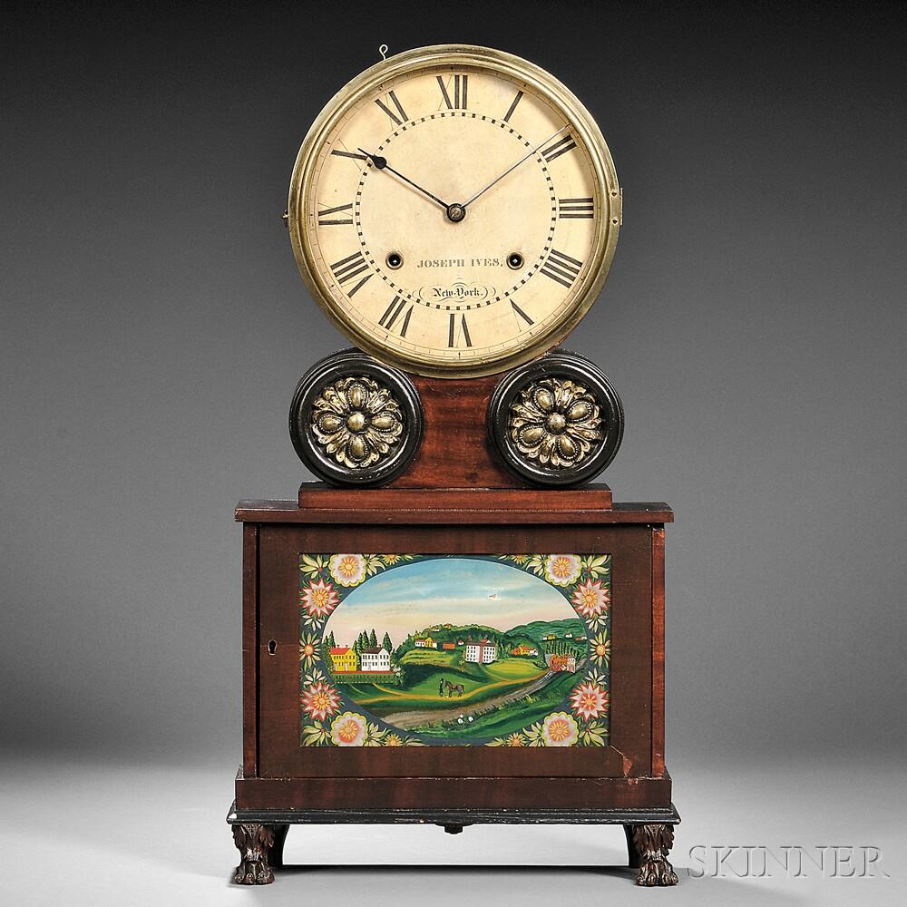 "Joseph Ives Lever-spring ""Brooklyn"" Shelf Clock"