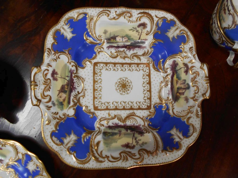 Minton Porcelain Partial Tea Service
