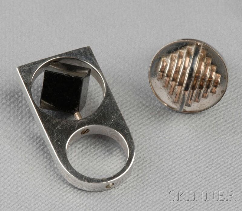 Two Artist-designed Rings