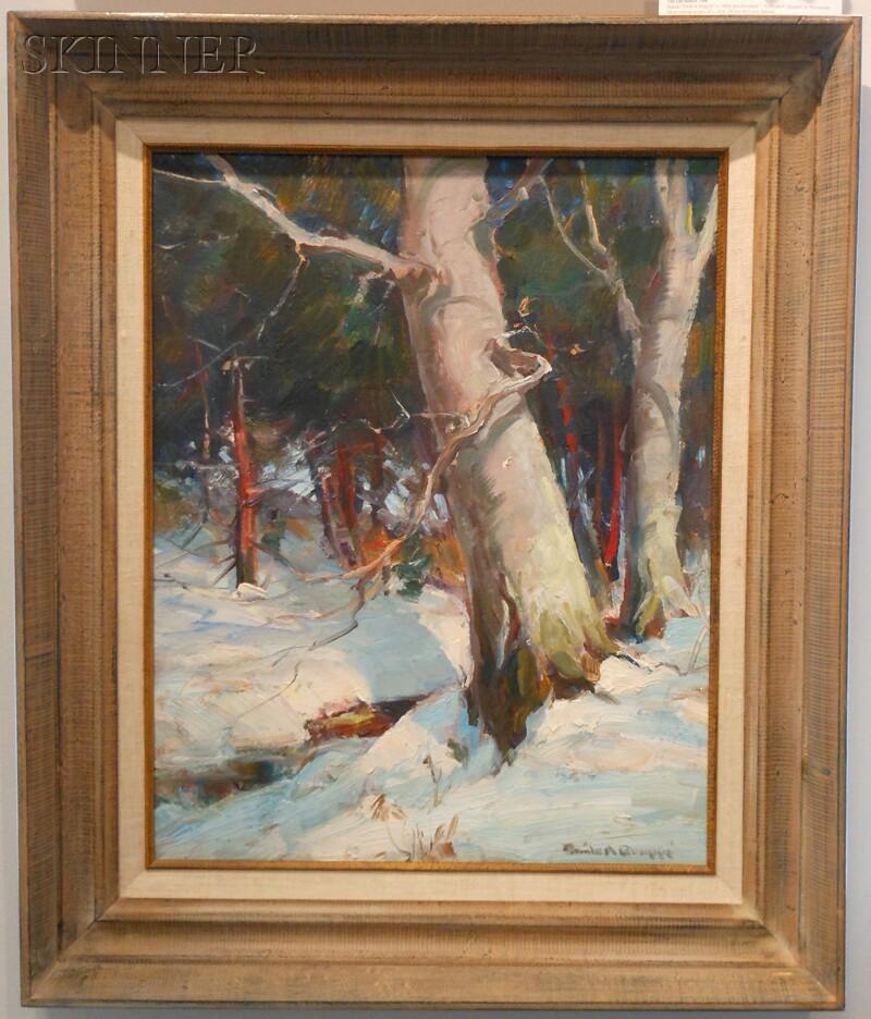 Emile Albert Gruppé (American, 1896-1978)      The Old Beech Tree