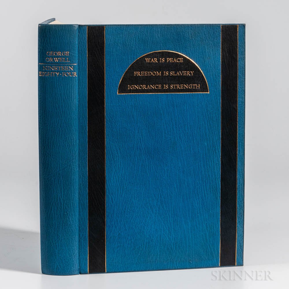 Orwell, George (1903-1950) Nineteen Eighty-Four. The Facsimile of the Extant Manuscript  , Limited Edition.