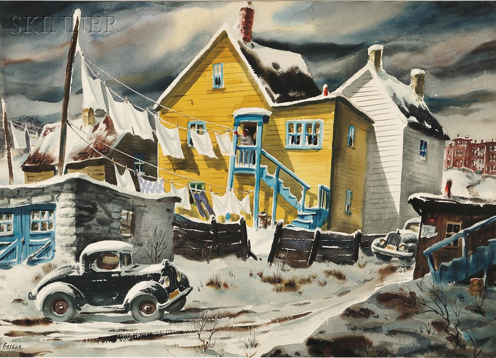 Henry Gasser Painting For Sale