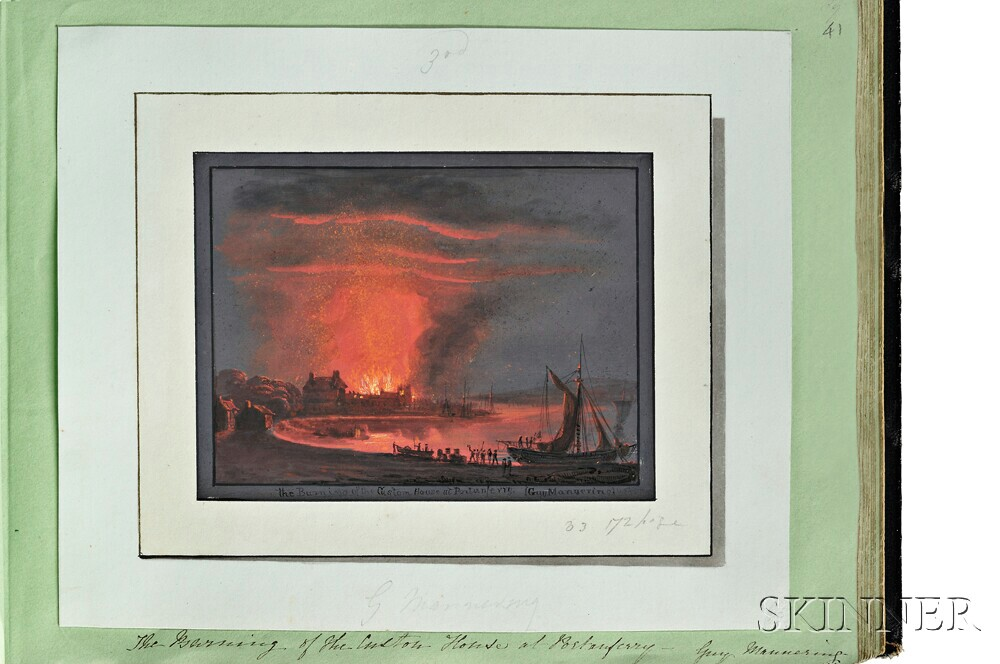 Scott, Sir Walter (1771-1832) Original Gouache Illustrations for the   Waverley Novels