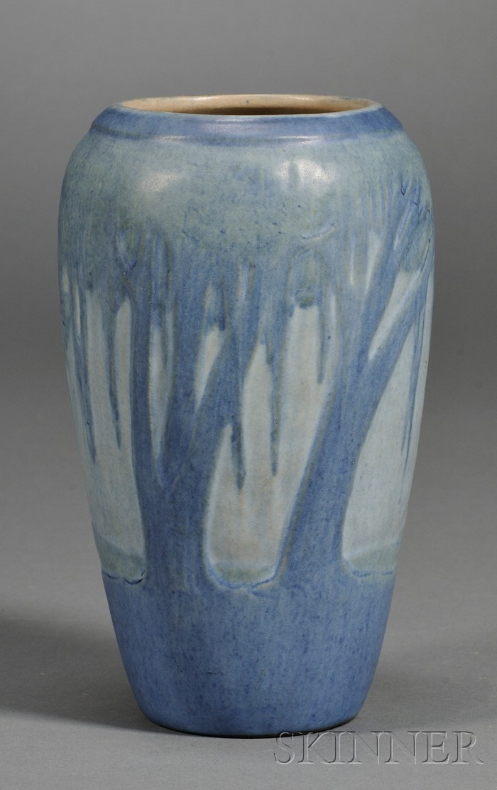 Newcomb Decorated Pottery Vase