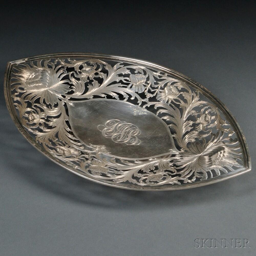 Davis & Galt Sterling Silver Dish