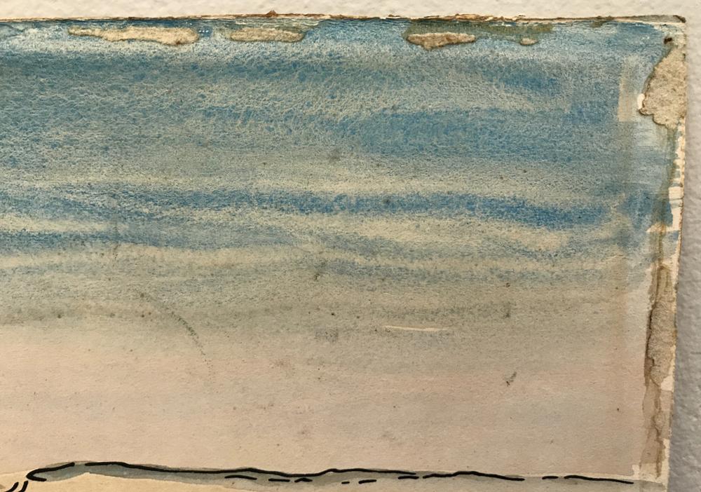 Thomas Hart Benton (American, 1889-1975)      Menemsha Pond
