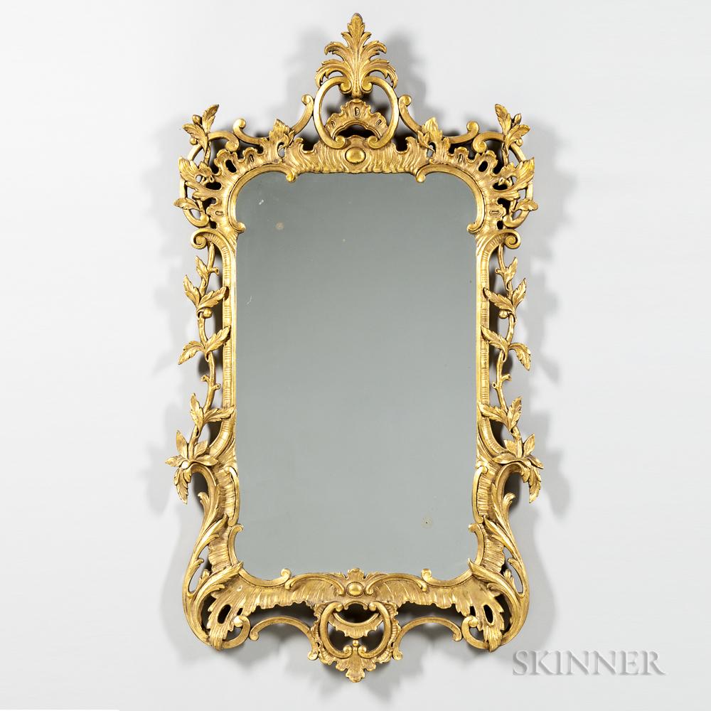Gilt Rococo Mirror