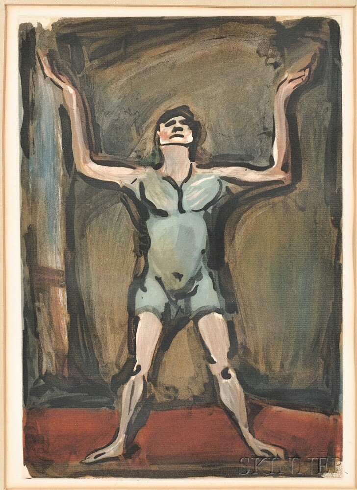 Georges Rouault (French, 1871-1958)      Le jongleur