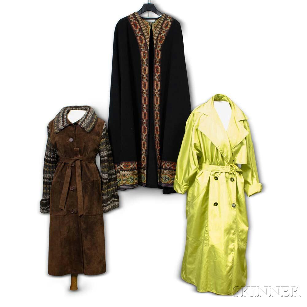 Three Women's Overcoats