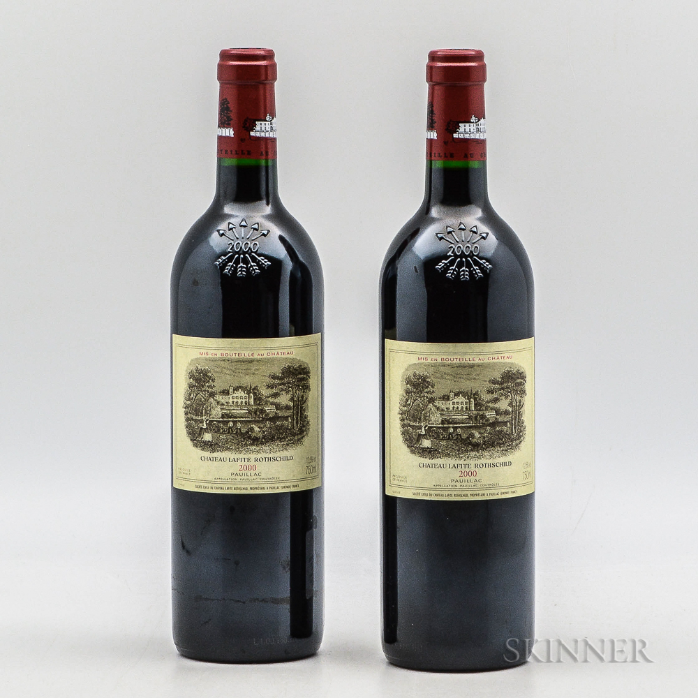 Chateau Lafite Rothschild 2000, 2 bottles